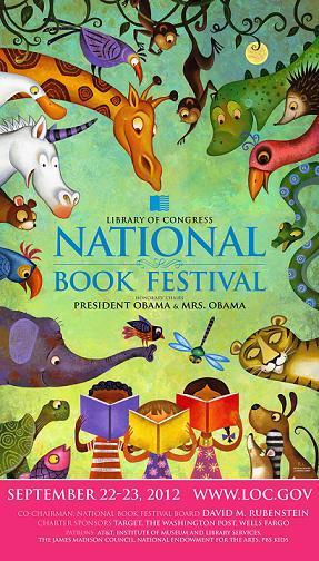 National Book Festival TOMORROW: Sat and Sun, Sept 22-23