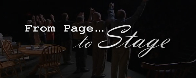 This weekend, 11th Annual Page-to-Stage at the Kennedy Center