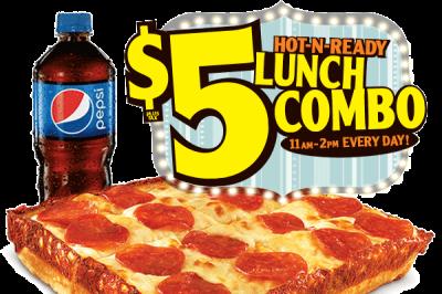Little Caesars' $5 Hot-N-Ready lunch combo