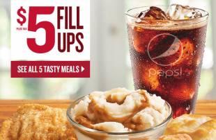 $5 meals at KFC