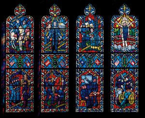Lee-Jackson windows in D.C. National Cathedral