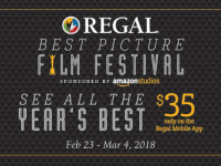 See All Nine Best Picture Nominees at Regal Cinemas for $35
