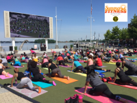 Free Fitness Classes on the Plaza at the National Harbor