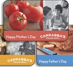 Bonus gift cards from Carrabba's & Brio