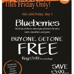 Blueberries on Sale at Whole Foods