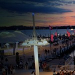 Workout for free at National Harbor
