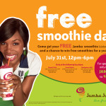FREE Jamba Juice smoothie today