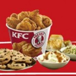 KFC: Two free large sides with 10-piece meal